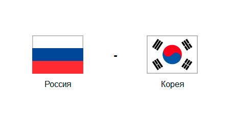 россию корея матч коэффициент ставок на